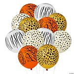 Latex Jungle Animal Print Balloons