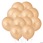 Gold Metallic Latex Balloons