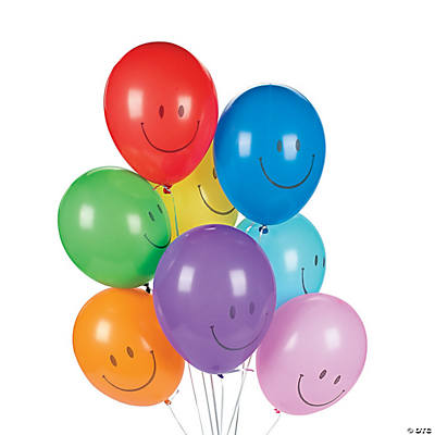 Latex Smile Face Balloons