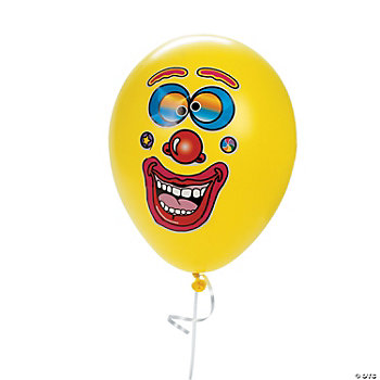 Balloon Face Stickers