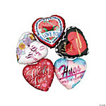 Metallic Mylar Love Balloon Assortment