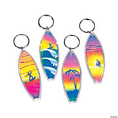 Surfboard Key Chains
