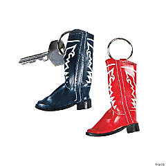 Cowboy Boot Key Chains