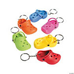 Rubber Slipper Key Chains