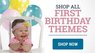 Shop All First Birthday Themes