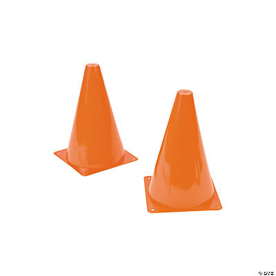 Orange Traffic Cones - Oriental Trading