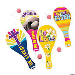 Religious Easter Paddleball Games