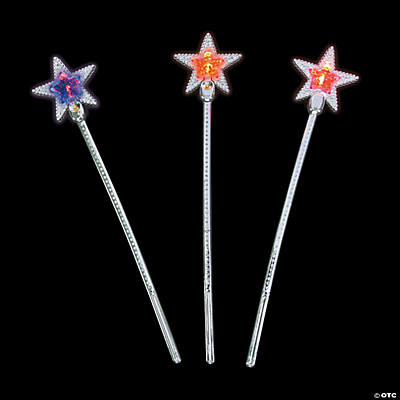 Flashing Star Wands