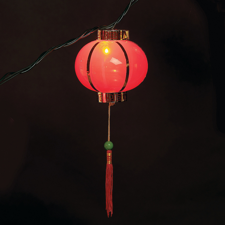 Oriental Lantern Lights Chinese Lantern Lights