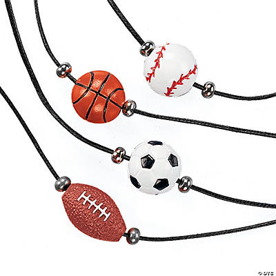 Sport Ball Necklaces