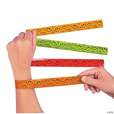 Smile Face Slap Bracelets