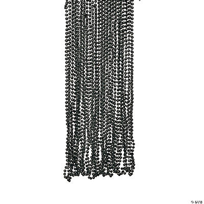Black Bead Necklaces