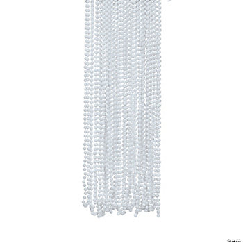 White Bead Necklaces
