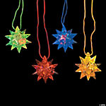 Flashing Star Ball Necklaces