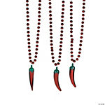 Chili Pepper Beaded Necklaces