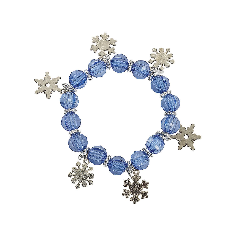 Snowflake Charm Bracelet: Snowflake Charm Bracelets