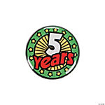"Years Of Service Pins - ""5 Years"""