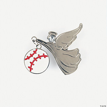 Baseball Angel Pins