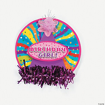 """Birthday Girl"" Pin"