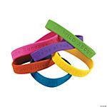 100th Day of School Rubber Bracelets