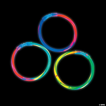 Swizzle Multi-Colored Glow Stick Bracelets