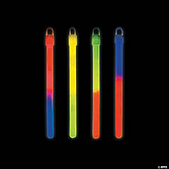 Bi-Color Glow Lightsticks