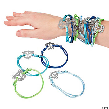 Tropical Creatures Peace Sign Bracelets