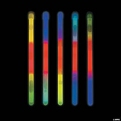 Premium Tri-Color Glow Sticks