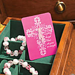 Inspirational Pink Ribbon Pin & Card Sets