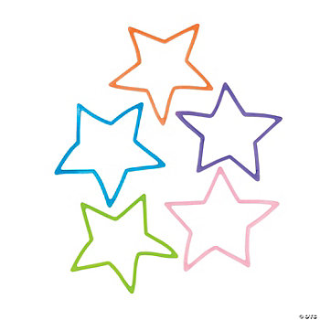 Glow-In-The-Dark Star Fun Bands
