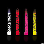 Animal Print Glow Lightsticks