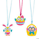 Happy Easter Owl Necklaces