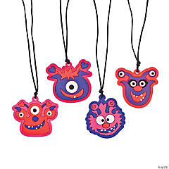 Valentine Monster Necklaces