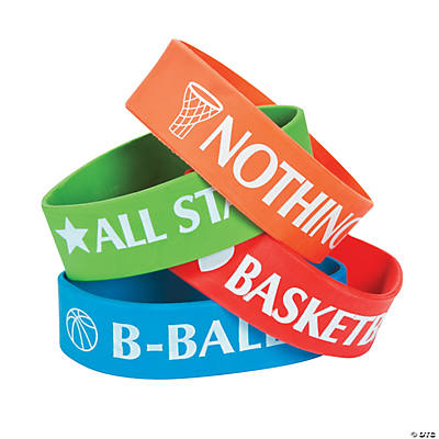 Basketball Big Band Bracelets
