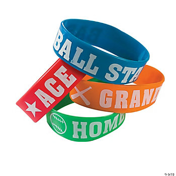 Baseball Big Band Bracelets