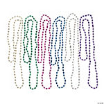 Disco Ball Beaded Necklaces