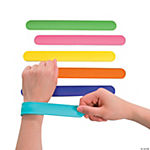 Bright Color Silicone Slap Bracelets