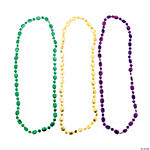 Fun Mardi Gras Beaded Necklaces