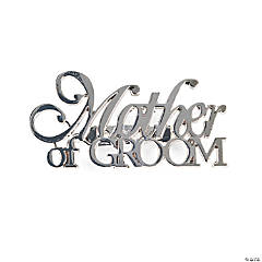 """Mother Of Groom"" Pin"