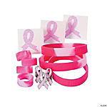 Pink Ribbon Jewelry Assortment