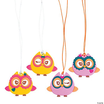 Cute Owl Necklaces