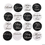 Wedding Party Buttons