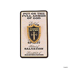 Armor Of God Pins On Cards