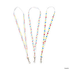 Smiling Stars Lanyards
