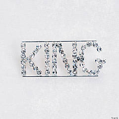"Rhinestone ""King"" Pin"