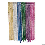 Bright Flat Mardi Gras Beads