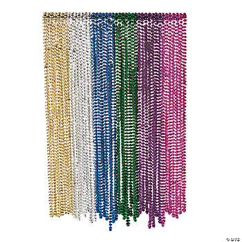 Bright Flat Bead Assortment - 32""