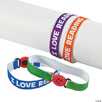 """I Love Reading"" Friendship Bracelets"