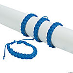Blue Braided Friendship Bracelets
