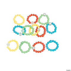 Stretch Bead Ring Assortment